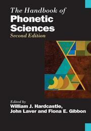 The Handbook of Phonetic Sciences