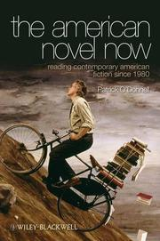 The American Novel Now