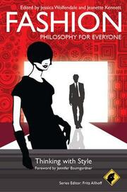 Fashion: Philosophy for Everyone