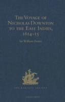 Voyage of Nicholas Downton to the East Indies, 1614-15