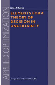 Elements for a Theory of Decision in Uncertainty