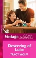Deserving of Luke (Mills & Boon Vintage Superromance) (Going Back, Book 30)