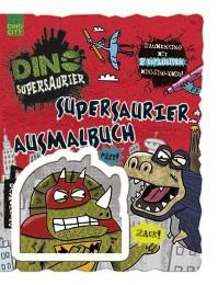 Supersaurier Ausmalbuch