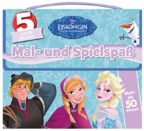 Disney - Die Eiskönigin: Mal- und Spielspaß
