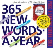 365 New Words-A-Year 2019