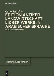 Edition antiker landwirtschaftlicher Werke in arabischer Sprache 1
