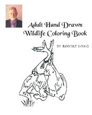 Adult Hand Drawn Wildlife Coloring Book