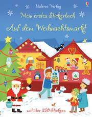 Mein erstes Stickerbuch: Auf dem Weihnachtsmarkt
