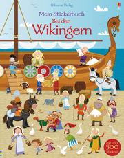 Mein Stickerbuch: Bei den Wikingern