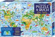 Puzzle & Buch: Die Welt