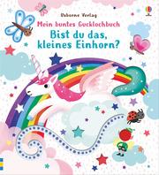 Mein buntes Gucklochbuch: Bist du das, kleines Einhorn? - Cover