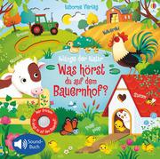 Klänge der Natur: Was hörst du auf dem Bauernhof? - Cover