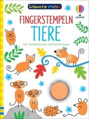 Usborne Minis - Fingerstempeln: Tiere