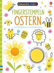Usborne Minis - Fingerstempeln: Ostern - Cover