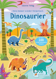 Mein Immer-wieder-Stickerbuch: Dinosaurier