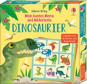 Mein buntes Memo und Bilderlotto: Dinosaurier