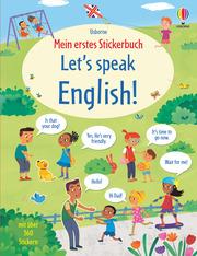 Mein erstes Stickerbuch: Let's speak English!