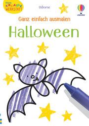 Ganz einfach ausmalen: Halloween
