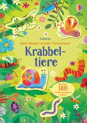Mein Immer-wieder-Stickerbuch: Krabbeltiere