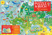 Puzzle & Buch: Europa