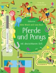Mein Wisch-und-weg-Buch: Pferde und Ponys