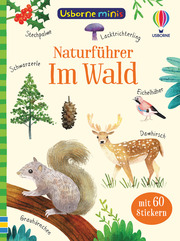 Usborne Minis Naturführer: Im Wald