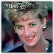 Princess Diana 2022 - 16-Monatskalender