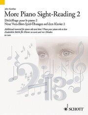 Neue Vom-Blatt-Spiel-Übungen auf dem Klavier 2