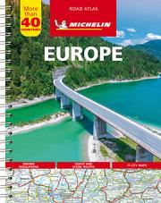 Michelin Straßenatlas Europa mit Spiralbindung