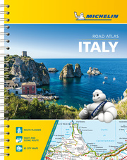 Michelin Straßenatlas Italien mit Spiralbindung