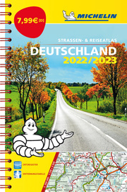 Michelin Kompaktatlas Deutschland 2022/2023