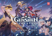 Genshin Impact - Wandkalender 2022