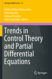 Trends in Control Theory and Partial Differential Equations
