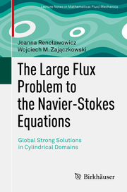 The Large Flux Problem to the Navier-Stokes Equations