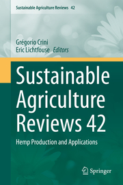 Sustainable Agriculture Reviews 42 - Cover