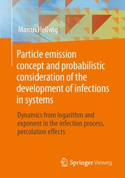 Particle emission concept and probabilistic consideration of the development of infections in systems