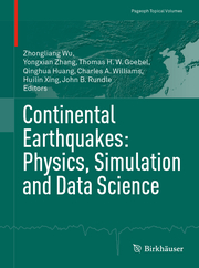 Continental Earthquakes: Physics, Simulation and Data Science