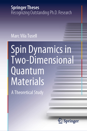 Spin Dynamics in Two-Dimensional Quantum Materials