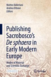 Publishing Sacrobosco's De sphaera in Early Modern Europe