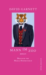 Mann im Zoo
