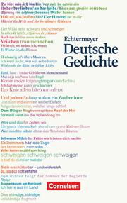 Echtermeyer: Deutsche Gedichte