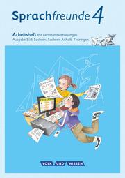 Sprachfreunde - Sprechen - Schreiben - Spielen - Ausgabe Süd (Sachsen, Sachsen-Anhalt, Thüringen) - Neubearbeitung 2015