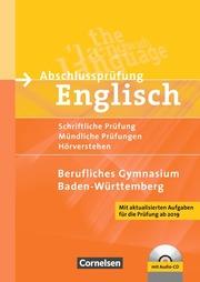 Abschlussprüfung Englisch, Berufliches Gymnasium, BGy, neu