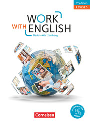 Work with English - 5th edition Revised - Baden-Württemberg - Cover