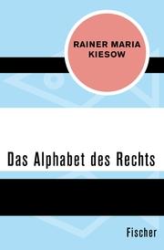 Das Alphabet des Rechts - Cover