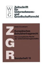Europäisches Schuldvertragsrecht