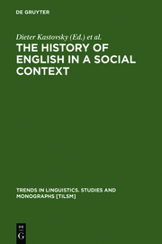 The History of English in a Social Context
