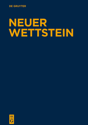 Neuer Wettstein I/2
