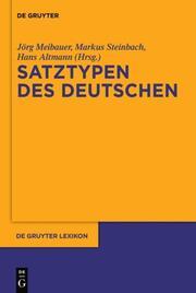 Deutsche Satztypen