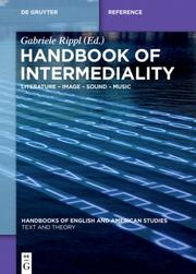 Handbook of Intermediality - Cover